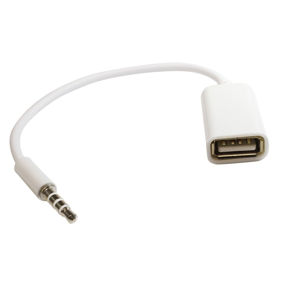 Adapter USB  - jack 3.5 mm