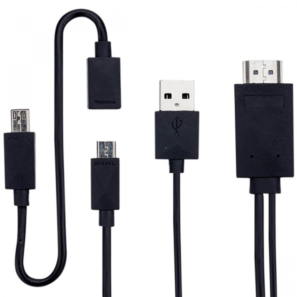 Adapter MHL microUSB do HDMI (5 i 11pin)